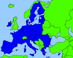 Europe Flag Map by European Flag Transformation Youtube