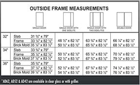 Standard Height Of Interior Door Common Door Dimensions Door Sizes Uk Standards Door Measurements