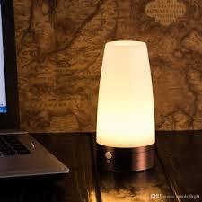 geecr led motion sensor night light 360a rotating bathroom