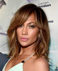 medium length piecy hair jennifer lopez s piecey locks the very best medium length