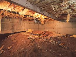crawl space solutions for crawl space water moisture problems