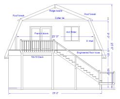 gambrel roof plans u0026 using a rigid gambrel frame made with 2x12