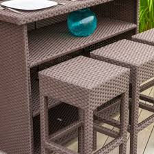 Patio Furniture Bar Set - amazon com christopher knight home outdoor patio collection