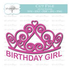 birthday girl birthday girl tiara sofontsy