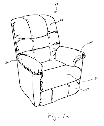 patent us7850232 zero clearance recliner mechanism google patents