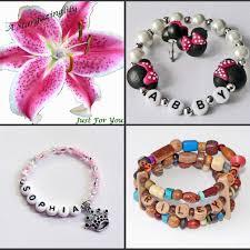 thanksgiving story bracelet poem party favors personalized jewelry name bracelets by stargazinglily