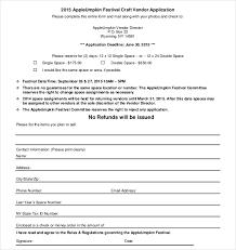 Vendor Information Sheet Template Vendor Application Template Thebridgesummit Co