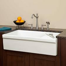 Kitchen Sink With Built In Drainboard by 36