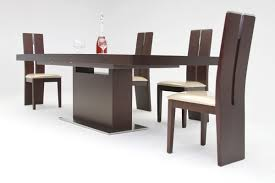 dining room design zenith modern red oak extendable dining table