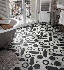 art deco flooring floor and wall tiling aspect cx ciment art deco 2 b w 20x20
