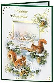 craft creations die cut 3d decoupage christmas card kit pkdcg001