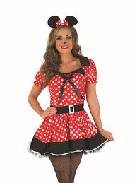 cutest sexiest halloween costumes ladies missy minnie mickey mouse disney fancy dress costume