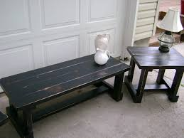 coffee tables ideas wood black distressed coffee table square