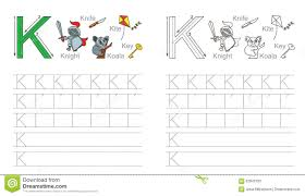 letter k tracing worksheet free worksheets library download and