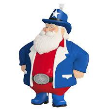 cowboy santa ornament keepsake ornaments hallmark