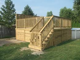 deck photo gallery decks and fences by ryan windsor ontario