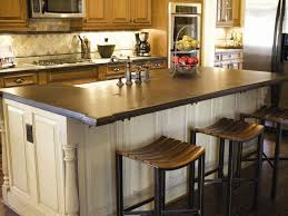 Kitchen Countertop Height Kitchen Elegant Counter Height Or Bar Seating Island Plan Lovely