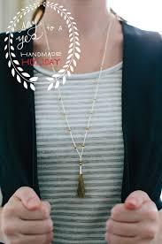 tassel necklace make images Diy tassel necklace say yes jpg
