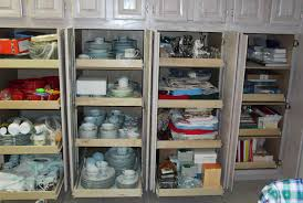 Organizing Kitchen Pantry - kitchen pantry cabinet pull out shelf storage sliding shelves