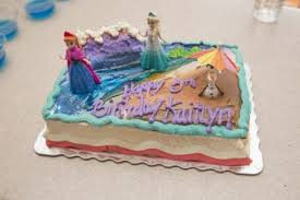 unique ideas for a frozen themed birthday party blue crystal sky