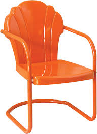 Retro Patio Furniture Metal Lawn Chairs