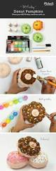 Mini Halloween Ornaments by Diy Painted Donut Mini Pumpkins Diy U0026 Crafts Pinterest Mini