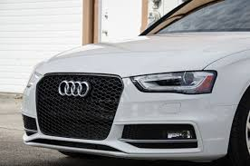 audi rs4 grille rs4 blackout mesh style grille audi b8 5 a4 s4 2013 av 1001 4756