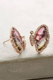 Butterfly Home Decor Accessories One Of A Kind Butterfly Tourmaline Earrings Anthropologie