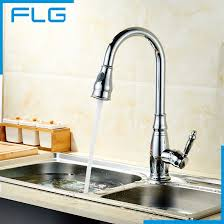 how to buy a kitchen faucet 99 96 buy free shipping chrome pull out kitchen faucet brass