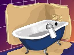 Can You Paint A Fiberglass Bathtub How To Paint The Bathtub With Pictures Wikihow