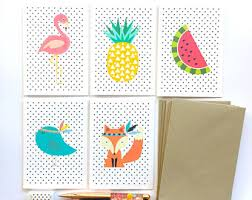 blank cards blank greeting cards etsy