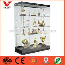 lockable glass display cabinet showcase lockable wooden glass display showcase for watch border clock shop