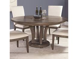 american drew park studio contemporary 62 inch round dining table