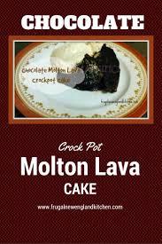 crockpot chocolate molten lava pudding cake recipe u2013 frugal new