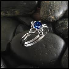 interlocking engagement ring wedding band celtic wedding ring sets walker metalsmiths celtic jewelry