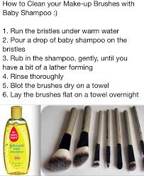 cleaning makeup brushes this works so well so much better than the vinegar method
