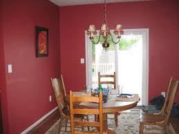 red dining room color ideas