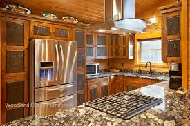 Rustic Kitchen Cabinets Cabin Cabinetry Knotty Alder - Cabin kitchen cabinets