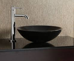 black stone bathroom sink stone vessel sinks bathroom