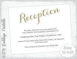 wedding reception invitation templates wedding reception invitations niengrangho info