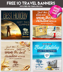 travel for free images 10 free travel banners psd best psd freebies jpg