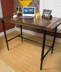 Diy Door Desk Diy Barn Door To Standing Desk Estatesales Net