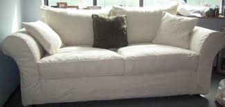 slip covered sofa slipcover for sofa with back cushions home the honoroak
