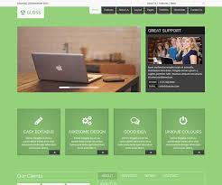 html5 website template free gloss free html5 website template ecology theme