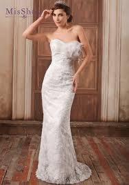 Wedding Dress Sashes Aliexpress Com Buy Misshow Elegant Mermaid Wedding Dress 2017
