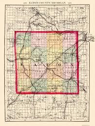 eaton centre floor plan old county map eaton michigan 1873