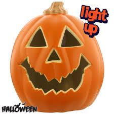 light up pumpkins for halloween buy halloween light up 9 pumpkin at home bargains