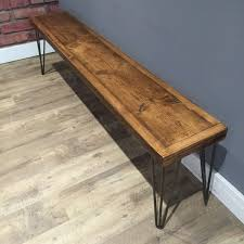 scaffold board bench wood and metal u2014 patina designers and makers