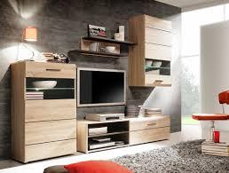 Wohnzimmerschrank 300 Cm Elegante Wohnwand Cora Iii Inklusive Weißer Led Beleuchtung