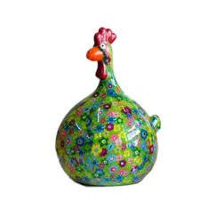 poule deco cuisine tirelire decorative poule cocotte fleurie f achat vente objet